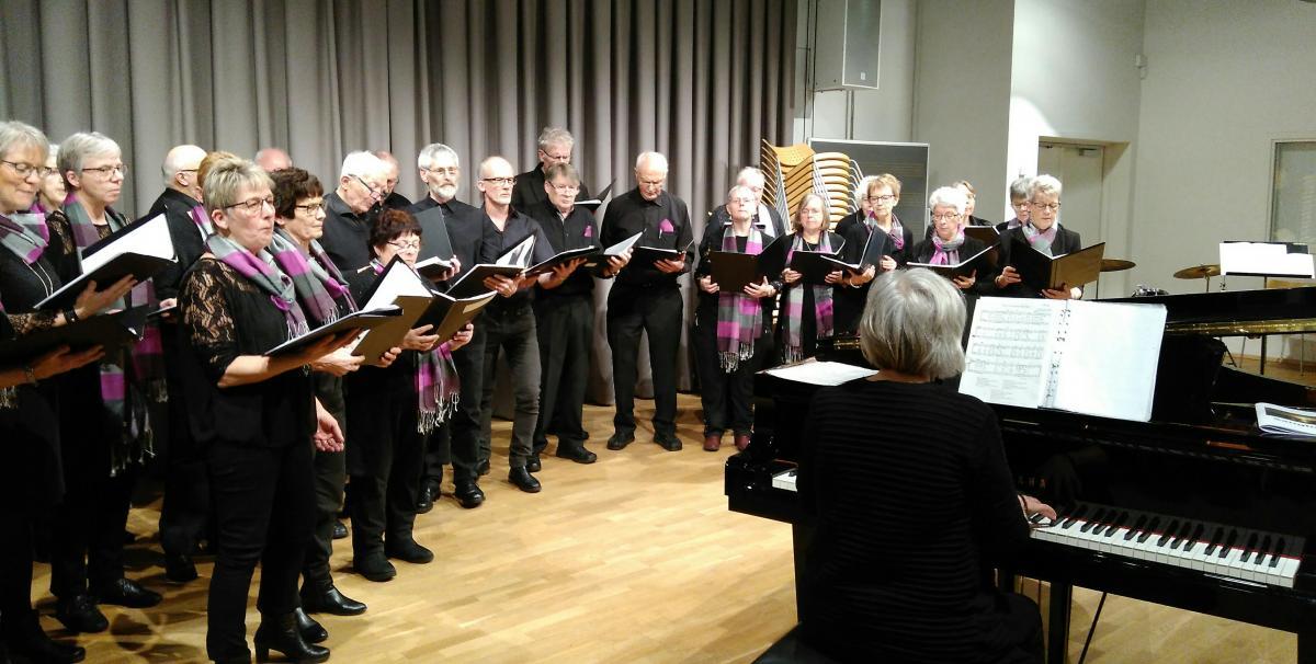 En Aften Fyldt Med Sang Og Hyggefællessang På Skive Musikskole